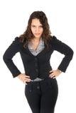 женщина дела динамически Стоковая Фотография RF