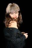 женщина дела обольстительная Стоковое Фото