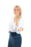 женщина дела сь Стоковое Изображение