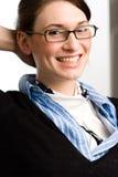 женщина дела уверенно предназначенная для подростков Стоковое Изображение