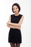 Женщина дела Yong довольно азиатская стоковые фотографии rf