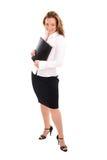женщина деловой репутации успешная Стоковое фото RF
