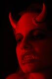женщина демона Стоковое Фото