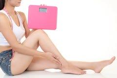 женщина диетпитания Стоковые Фотографии RF