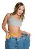 женщина диетпитания Стоковое фото RF