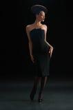 женщина диска coiffure Стоковое Изображение RF