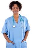 женщина доктора афроамериканца Стоковые Фото