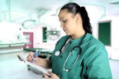 женщина доктора стоковая фотография