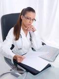 женщина доктора Стоковое Изображение