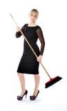 женщина домохозяйки дела отчаянная Стоковые Изображения