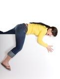 женщина доски стоковое фото