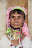 Женщина Длинн-шеи, Мьянма Стоковое фото RF