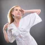 Женщина лета Стоковое Изображение