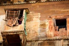 Женщина ждать вверх Стоковые Изображения RF