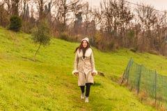 женщина зимы одежды Стоковая Фотография RF