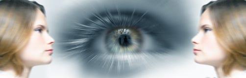 женщина зрения дела будущая Стоковое Изображение RF
