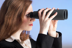 женщина зрения стоковое изображение rf