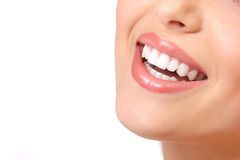 женщина зубов Стоковые Фотографии RF