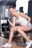 женщина здоровья клуба Стоковая Фотография RF