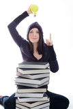 женщина идеи Стоковая Фотография RF