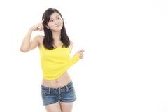 женщина диетпитания Стоковое Фото