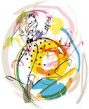 женщина иллюстрации способа Стоковые Изображения