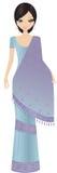 женщина индейца bollywood иллюстрация штока