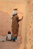 женщина Индии трудная Стоковые Фото