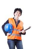 Женщина инженера Стоковые Фотографии RF