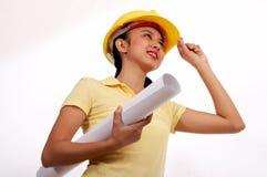 женщина инженера Стоковое Изображение RF
