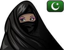 Женщина ислама Стоковая Фотография