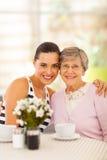Женщина и бабушка Стоковое Изображение RF