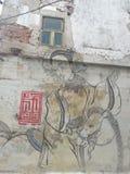 Женщина и лошадь стоковое фото rf