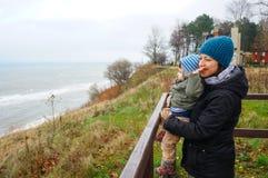 Женщина и ребенок Стоковая Фотография