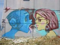 Женщина и чужеземец Стоковая Фотография RF
