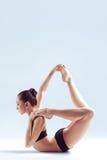 Женщина йоги Стоковые Фото