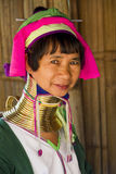 Женщина Карена в Chiang Rai, Таиланде Стоковое Фото