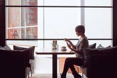 женщина кафа шикарная Стоковое Изображение