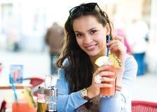 женщина кафа Стоковые Фото