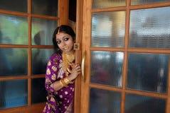 Женщина Керала стоковое изображение rf