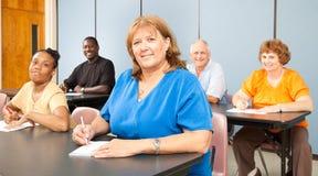 женщина коллежа возмужалая Стоковое Изображение RF