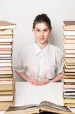 женщина коллежа Стоковые Фото
