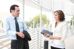 женщина команды офиса бизнесмена Стоковые Изображения