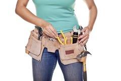 Женщина конструкции. Стоковая Фотография RF
