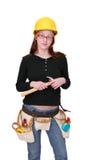 женщина конструкции Стоковое фото RF