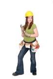женщина конструкции Стоковые Фото