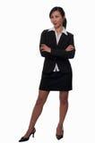 женщина костюма дела стоковое изображение