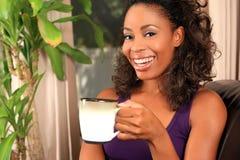 женщина кофе Стоковые Фотографии RF