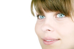 женщина красивейшего счастливого портрета сь Стоковые Изображения