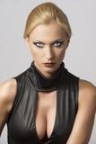 женщина красивейшего фронта платья сексуальная стоковая фотография rf